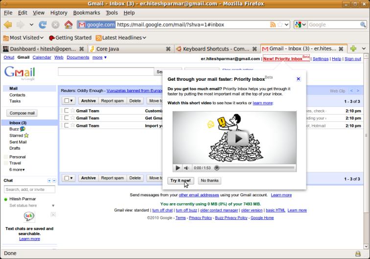 Screenshot Priority Inbox