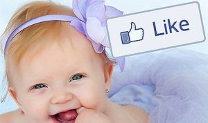 facebook like inspires the baby names