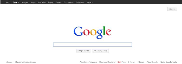 google @ 2012