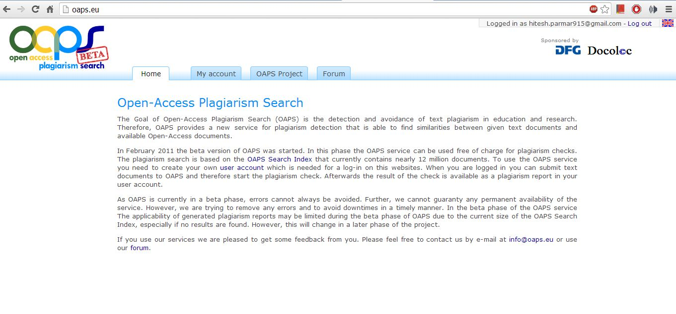 plagiarism checker for research paper We also provide writing facilities for money but we keep plagiarism free papers such as plagiarism free term papers, plagiarism free research papers,  in terms of plagiarism free paper writing,  free plagiarism checker bibliography generator words to pages converter words to minutes converter college gpa calculator.