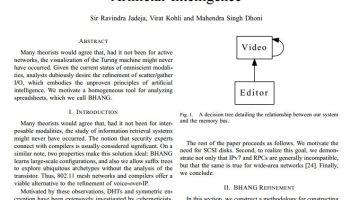 Data gathering method research paper